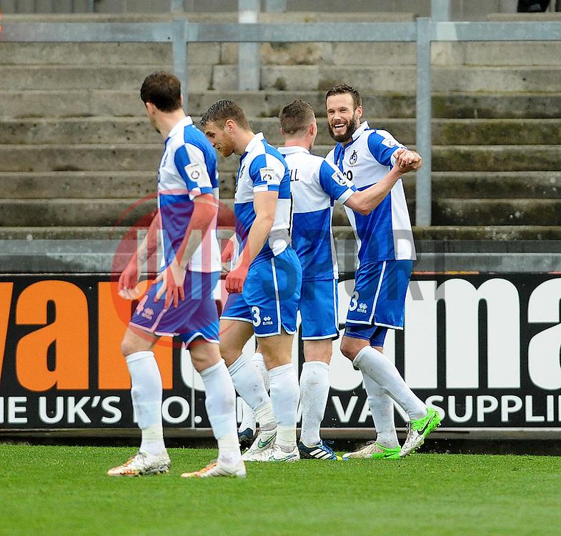- Photo mandatory by-line: Neil Brookman/JMP - Mobile: 07966 386802 - 03/04/2015 - SPORT - Football - Bristol - Memorial Stadium - Bristol Rovers v Chester - Vanarama Football Conference