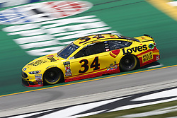 July 13, 2018 - Sparta, Kentucky, United States of America - Michael McDowell (34) brings his race car down the front stretch during practice for the Quaker State 400 at Kentucky Speedway in Sparta, Kentucky. (Credit Image: © Chris Owens Asp Inc/ASP via ZUMA Wire)
