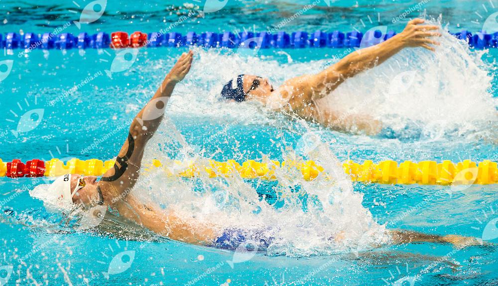 KONOVALOV Nikita RUS<br /> 100m Backstroke Men Heats<br /> Netanya, Israel, Wingate Institute<br /> LEN European Short Course Swimming Championships Dec. 2 - 6, 2015 Day02 Dec.03<br /> Nuoto Campionati Europei di nuoto in vasca corta<br /> Photo Giorgio Scala/Deepbluemedia/Insidefoto