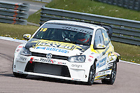 #19 Bobby THOMPSON  Power Maxed Racing  Volkswagen Polo Milltek Sport Volkswagen Racing Cup at Rockingham, Corby, Northamptonshire, United Kingdom. April 30 2016. World Copyright Peter Taylor/PSP.
