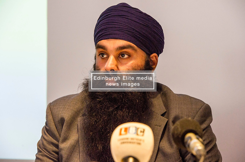 """Pictured:  Gurpreet Singh Johal, Jaggi's brother.<br /> <br /> This week marks 100 days since the arrest of Jagtar Singh Johal, a Scottish Sikh from Dumbarton who has been held by Indian police without charge since 4 November 2017.  The arrest came two weeks after Jagtar, also known as 'Jaggi"""" travelled to india from Scotland for his wedding.<br /> <br /> <br /> Ger Harley   EEm 12 February 2018"""