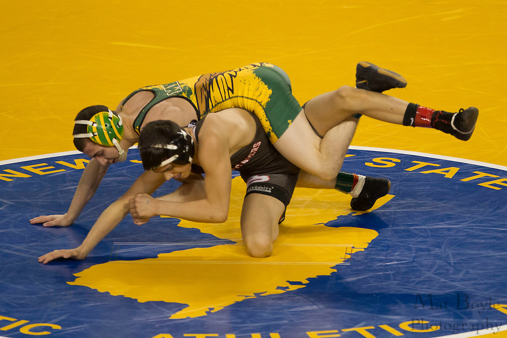 NJSIAA State Wrestling consolation matches at Boardwalk Hall in Atlantic CIty on Sunday March 4, 2012. (photo / Mat Boyle)