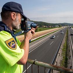 20180424: SLO, Police - Radar in Ljubljana