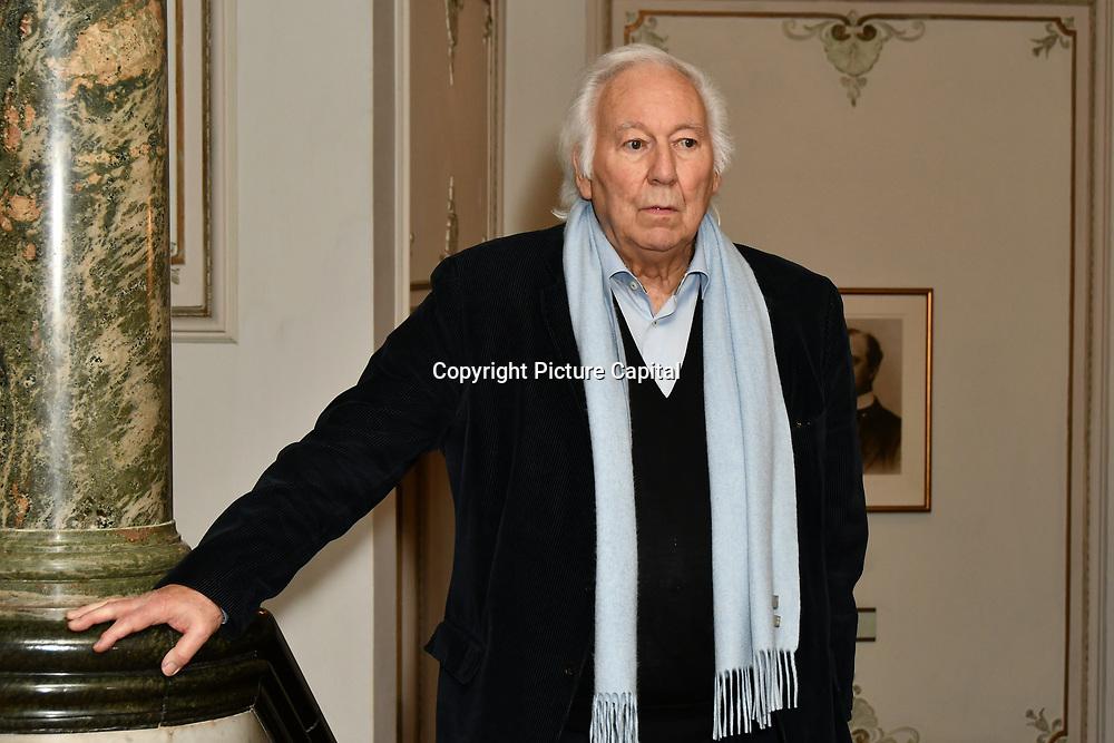 Photocall: Producer Michael Linnit of Man of La Mancha at London Coliseum on 19 Feb 2019, London, UK.