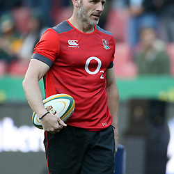 Paul Gustard (Defence Coach) of England during the 2018 Castle Lager Incoming Series 1st Test match between South Africa and England at Emirates Airline Park,<br /> Johannesburg.South Africa. 09,06,2018 Photo by (Steve Haag Sports)