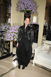 AMANDA HARLECH at the 10th Anniversary Party of the Lavender Trust, Breast Cancer charity held at Claridge's, Brook Street, London on 1st May 2008.<br />
