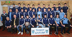 Westport Gaa 2016 Minor with mentors and team sponsor Stephen Broderick Division 1 league &amp; West Mayo A Championship Winners.<br />