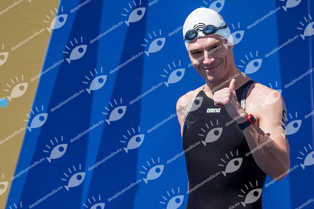 GIANNOTIS Spyridon GRE<br /> Bronze Medal<br /> Open Water 10km Men - Kazanka River<br /> Day04 27/07/2015<br /> XVI FINA World Championships Aquatics Swimming<br /> Kazan Tatarstan RUS July 24 - Aug. 9 2015 <br /> Photo A.Masini/Deepbluemedia/Insidefoto