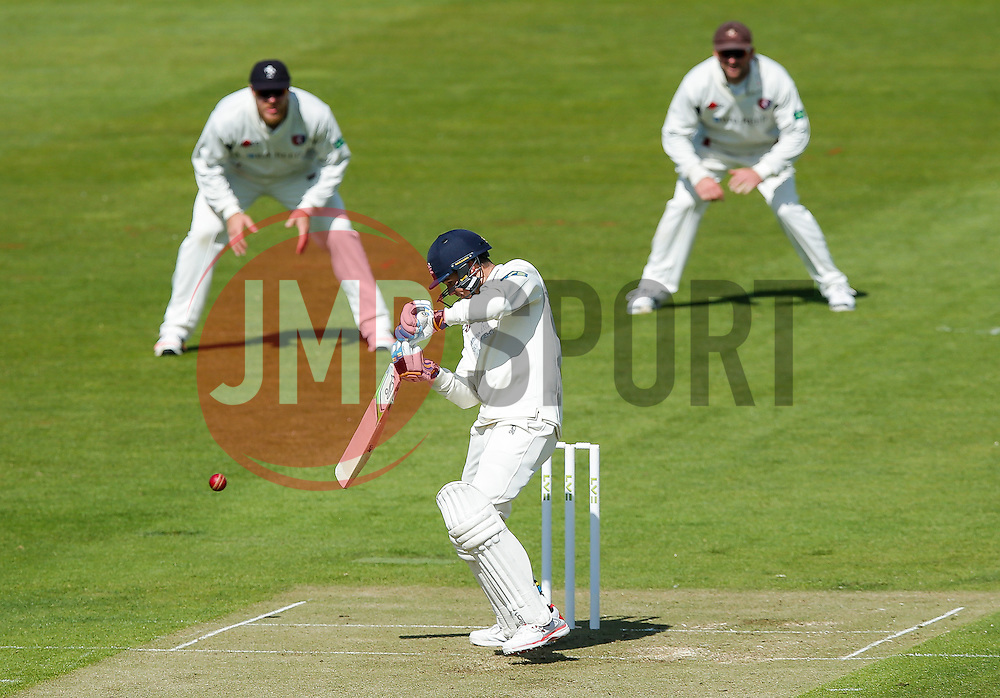 Peter Handscomb of Gloucestershire in action - Photo mandatory by-line: Rogan Thomson/JMP - 07966 386802 - 18/05/2015 - SPORT - CRICKET - Bristol, England - Bristol County Ground - Gloucestershire v Kent - Day 1 - LV= County Championship Division Two.