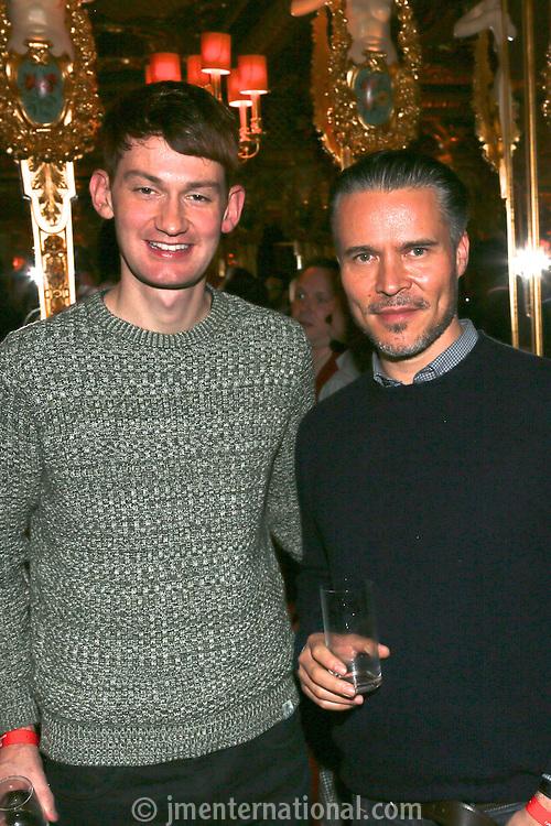 The Critics Drinks, Cafe Royal, London.<br /> Monday 18,11, 2013 (Photo/John Marshall JME)