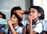 Pakistan, Karachi, 2004. Women's education is crucial to the Edhi Foundation?s self-help philosophy.