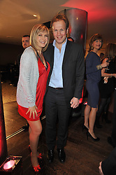 PENNY SMITH and TOM BRADBY at the Costa Book Awards 2010 held at Quaglino's, 16 Bury Street, London on 25th January 2011.