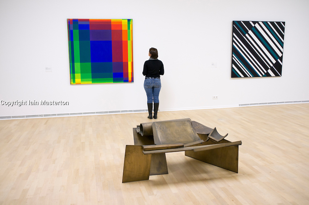 Modern art at Kunst Palast in Dusseldorf Germany