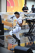 12.SEPTEMBER.2013. NEW YORK<br /> <br /> JANELLE MONAE PERFORMS LIVE ON THE TODAY SHOW IN NEW YORK<br /> <br /> BYLINE: EDBIMAGEARCHIVE.CO.UK<br /> <br /> *THIS IMAGE IS STRICTLY FOR UK NEWSPAPERS AND MAGAZINES ONLY*<br /> *FOR WORLD WIDE SALES AND WEB USE PLEASE CONTACT EDBIMAGEARCHIVE - 0208 954 5968*