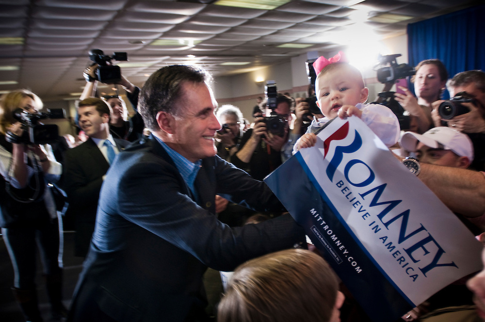 Republican Mitt Romney campaigning in South CarolinaRepublican Mitt Romney campaigning in Sumter, South Carolina