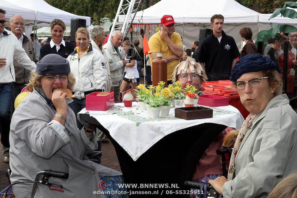 NLD/Huizen/20080913 - Huizerdag 2008, dames van toneelgroep Flats
