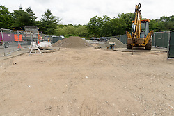 CT-DOT Project No. 173-456 Orange Maintenance Facility Tank Replacement. Construction Progress Photo Documentation on 1 July 2016. One of 30 Images Captured this Submission at both locations.