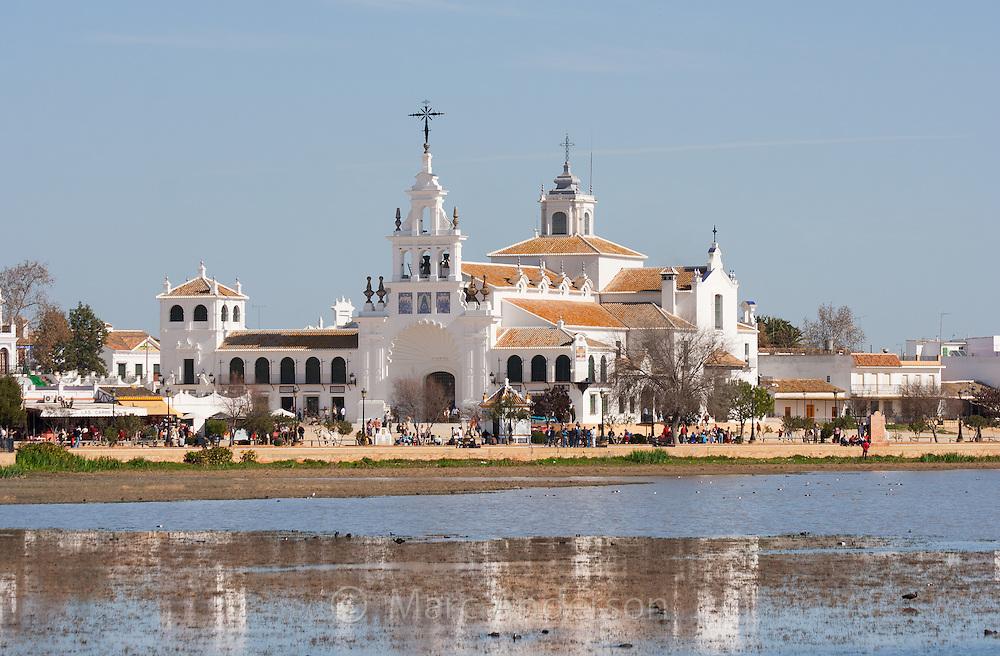 Village of El Rocio in the province of Huelva, Spain