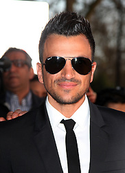 Peter Andre arrives at The Asian Awards, at the Grosvenor House hotel, London, UK, on 16 April, 2013, 17 April, 2013. Photo by: i-Images