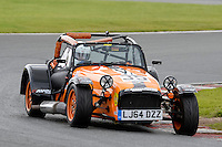 #35 Peter Reynolds Caterham Roadsport during the Avon Tyres Caterham Roadsport Championship at Oulton Park, Little Budworth, Cheshire, United Kingdom. August 13 2016. World Copyright Peter Taylor/PSP.