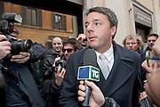 2013/03/06 Roma, Riunione della direzione del Partito Democratico. Nella foto Matteo Renzi.<br /> Rome, Partito Democratico meeting of national leadership. In the picture Matteo Renzi - &copy; PIERPAOLO SCAVUZZO