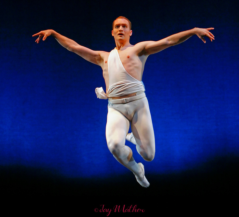 Jack Hansen performs Apollo with the Sacramento Ballet for the final time during Ron Cunningham's 20th anniversary gala performance.  Sacramento Theatre Company Main Stage.  Wednesday, April 23, 2008
