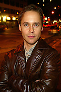 "NEW YORK - OCTOBER 16: Actor Chad Lowe poses at the opening night party for ""Burning Blue"" at Zanzibar October 16, 2002 in New York City, New York.  (Photo by Matthew Peyton)"
