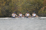 Boston, Massachusetts,  Championships Men's fours, Princeton Training Center,  competing in the  Forty Second, [42nd] Head of the Charles, 22/10/2006.  Photo  Peter Spurrier/Intersport Images...[Mandatory Credit, Peter Spurier/ Intersport Images] Rowing Course; Charles River. Boston. USA