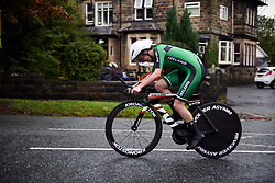 Anna Turvey (GBR) at UCI Road World Championships 2019 Elite Women's TT a 30.3 km individual time trial from Ripon to Harrogate, United Kingdom on September 24, 2019. Photo by Sean Robinson/velofocus.com