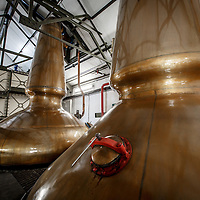 The stills at Ardbeg Distillery in Port Ellen, Isle of Islay, Scotland, July 15, 2015. Gary He/DRAMBOX MEDIA LIBRARY