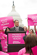 Senator Al Franken (D-Minnesota) at the Rally for Women's Health on Capitol Hill.