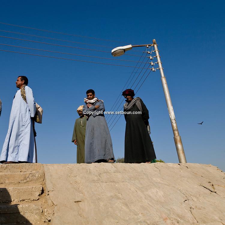Thebes side  Louxor - Egypte    /  la rive thebaine  Louqsor - Egypt