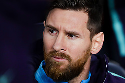 February 6, 2019 - Barcelona, Catalonia, Spain - February 6, 2019 - Camp Nou, Barcelona, Spain - Copa del Rey - FC Barcelona v Real Madrid CF; Lionel Messi of FC Barcelona focused on the match. (Credit Image: © Marc Dominguez/ZUMA Wire)