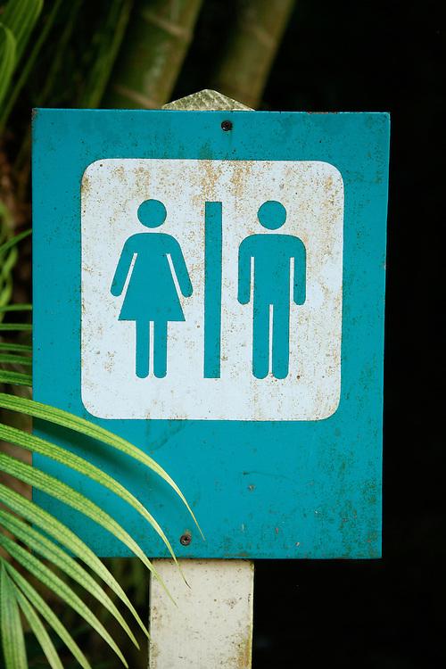 Women and Men Sign