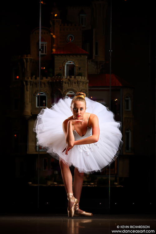 Dance As Art New York City Photography Project Astolat Castle Series with ballerina, Joceyln Farabaugh