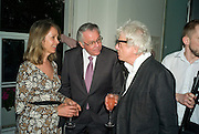 SABRINA GUINNESS, THE  AMERICAN AMBASSADOR ROBERT TUTTLE AND NICKY HASLAM. These Foolish Things, charity evening hosted by Sir Richard and Lady Rogers. Chelsea. London. 7 May 2008.  *** Local Caption *** -DO NOT ARCHIVE-© Copyright Photograph by Dafydd Jones. 248 Clapham Rd. London SW9 0PZ. Tel 0207 820 0771. www.dafjones.com.