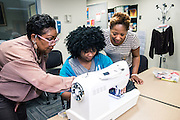 TCCD Fashion Design Class on the SE Campus, February 2017