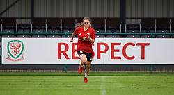NEWPORT, WALES - Monday, June 4, 2018: Wales' Ffion Morgan during a training session at Dragon Park ahead of the FIFA Women's World Cup 2019 Qualifying Round Group 1 match against Bosnia and Herzegovina. (Pic by David Rawcliffe/Propaganda)