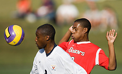 Virginia Cavaliers F Matt Mitchell (9)..The Virginia Cavaliers men's soccer team faced the St. John's Red Storm at Klockner Stadium in Charlottesville, VA on September 16, 2007.