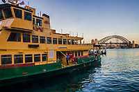 Daily Wash of Sydney Ferries, Circular Quay