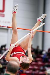womens pole vault, BU<br /> BU John Terrier Classic <br /> Indoor Track & Field Meet