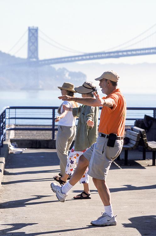 SAN FRANCISCO, CALIFORNIA - Tai Chi Class