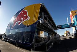 Motorsports / Formula 1: World Championship 2011, Test Valencia, Hospitality Red Bull, Motorhome,