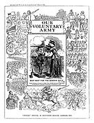 Our Voluntary Army. (Cover, supplement)