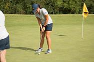 October 10, 2017 - Johnson City, Tennessee - Warren-Greene Golf Center: Hee Ying Loy<br /> <br /> Image Credit: Dakota Hamilton/ETSU