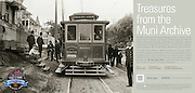 Car 806 on Ingleside Road | July 23, 1906  | Treasures from the Muni Archive at the SFO International Terminal