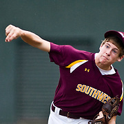 8/15/10 Aberdeen, MD: Mountain Home Pitcher Austin Jacobelli Vs Willamette Valley at 2010 Aberdeen Baseball Tournaments in Aberdeen MD. Special to The Baxter Bulletin/SAQUAN STIMPSON