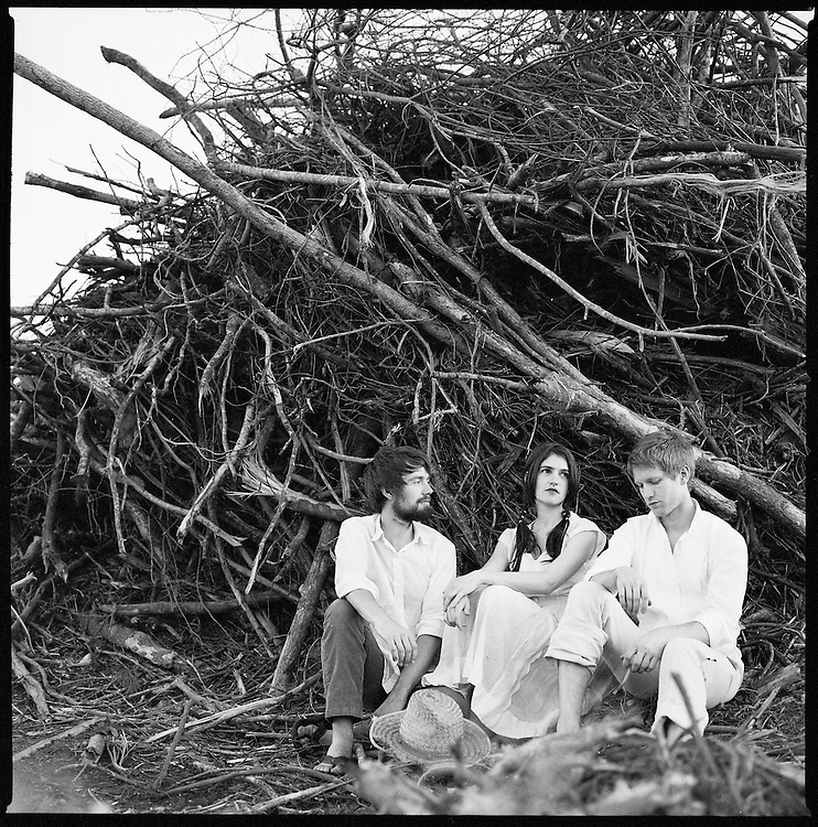 Bowerbirds, from left, Phil Moore, Beth Tacular and Mark Paulson.<br /> Photo by DL Anderson