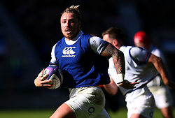 Jack Nowell of England during an open training session at Twickenham - Mandatory by-line: Robbie Stephenson/JMP - 16/02/2018 - RUGBY - Twickenham Stadium - London, England - England Rugby Open Training Session