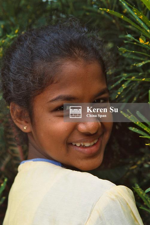 A little girl, Sri Lanka